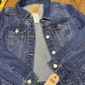 Levi Strauss children's (10-12) Jean jacket! NWT!